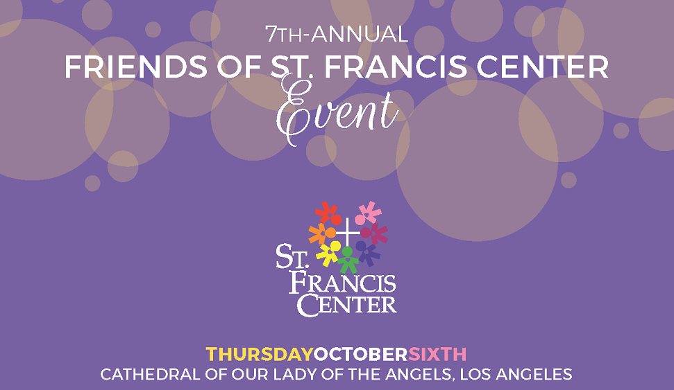 Friends of St. Francis Center Event