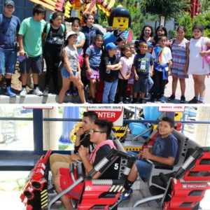 Our youth enjoying a day at LegoLand!